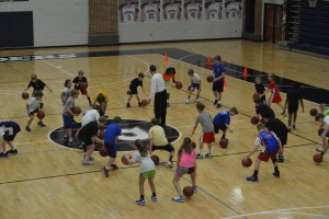 6-8 year old players in our 2012 camp