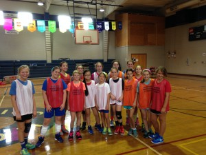 Girls group @ Skills camp